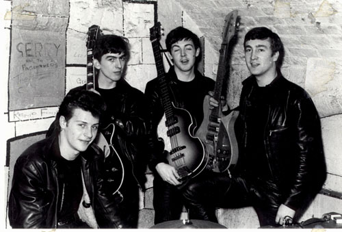 The Beatles with Pete Best instead of Ringo, when they were the resident club band at The Cavern and mostly playing rock n roll