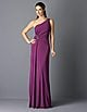 photo credit: lordandtaylor.com      David Meister draped one shoulder evening dress $370    polyester/spandex, imported, dry clean