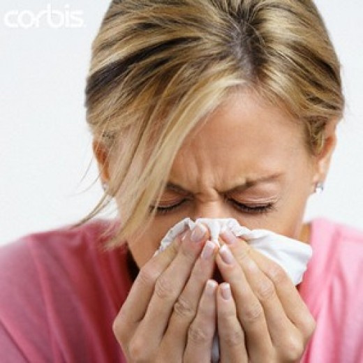 Hay Fever: itchy eyes and runny nose