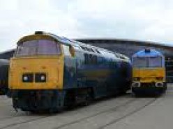 The class 52 diesel - a stalwart of the UK rail network for years.