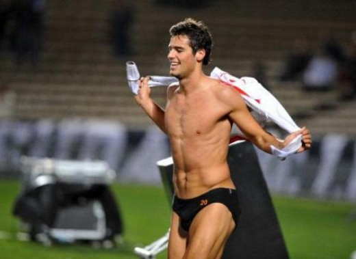 Yoann Gourcuff is the 23 year old midfielder that plays for the French national team.