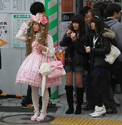 Overdressed for Shibuya? Certainly not!