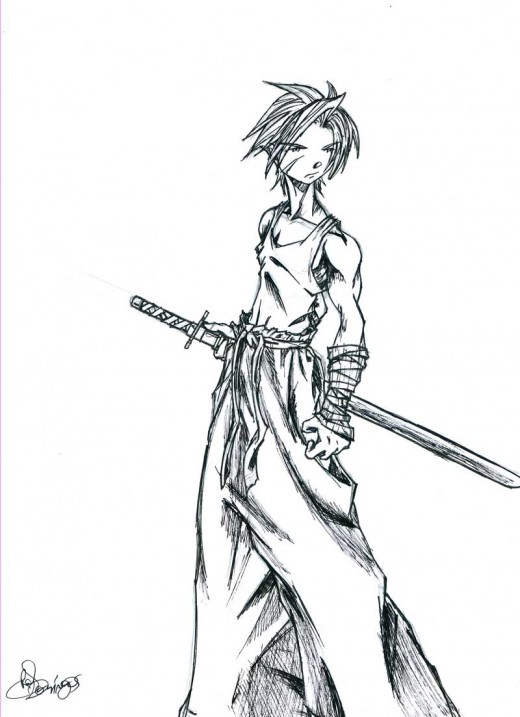 Character for manga project