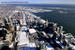 Toronto is located on Lake Ontario