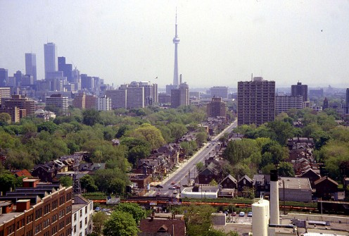 More of Toronto with the CN Tower in the background