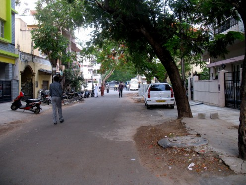 The street where our Kanaka Lived. A view from the Left side of her home.