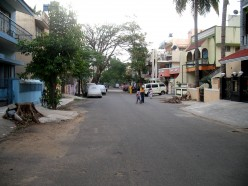 A View of the street to the Right side of Kanaka's Home