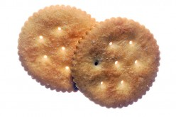 Ritz, invented for Thanksgiving 1934, released Wed. 11/21/34 by Nabisco (R).