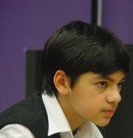 Anish Giri, this 14 year old chess wunderkind is different from the usual chess prodigies. While his counterparts studies a lot with their opening repertoire he is busy with his studies and just takes chess seriously during weekends.