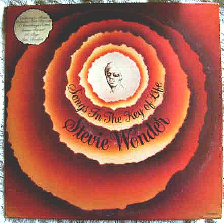 Stevie Wonder. Songs in the Key of Life!
