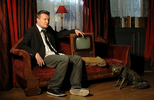 Charlie Brooker, television's self-consciousness incarnate