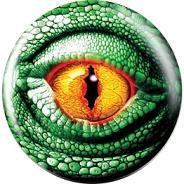 Brunswick Lizard Eye Glow