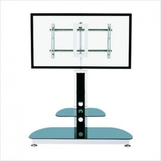 Tv pedestal an outstanding flat screen tv stand for Cheap tv stand alternatives