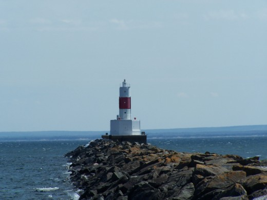 Lighthouse at Presque Isle by Emily Glahn Eades