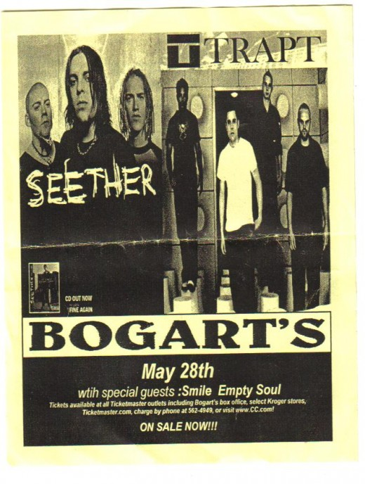 Seether and Trapt.