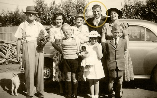 The 1950s - it was all about family.