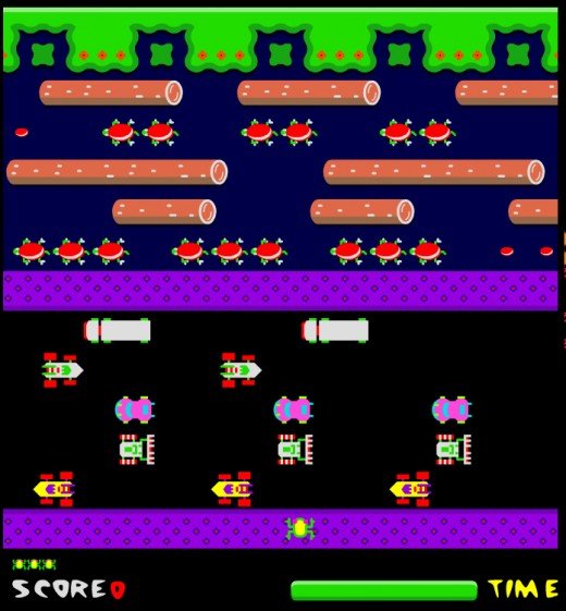 Frogger games to play on line!