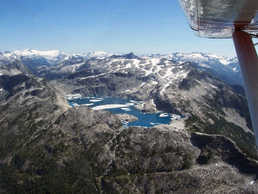 alpine lake of Sechelt  photo from dhc.com