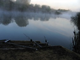 Another Cracking Dawn on a typical carp lake.
