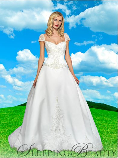 Disney Sleeping Beauty Wedding Dress