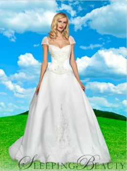 Disney Sleeping Beauty Wedding Dress