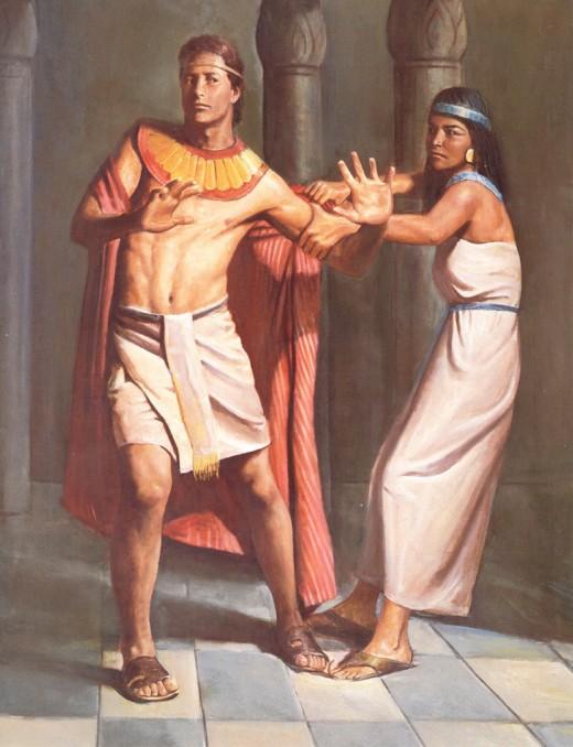 Joseph & Potiphar's wife