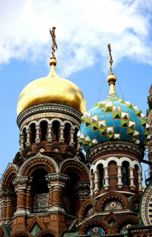 Church of the Savior on Spilled Blood. Photo by punxutawneyphil.