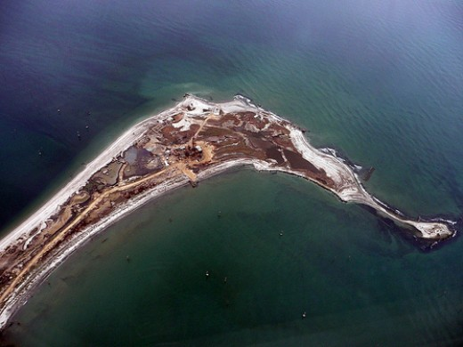 An Island in the Caspian Sea