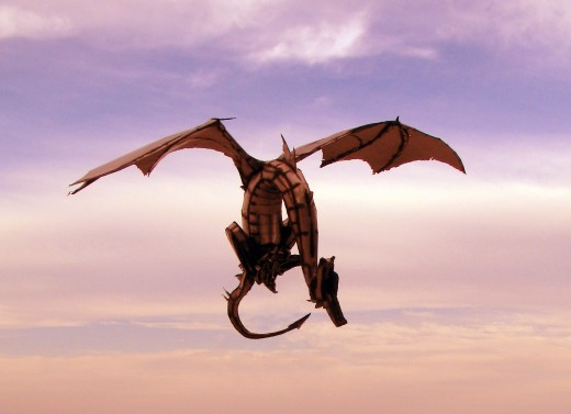 Wyvern - Dragon with two legs and wings