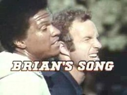 Billy Dee Williams and James Caan in Brians Song