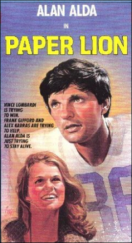 Alan Alda in Paper Lion