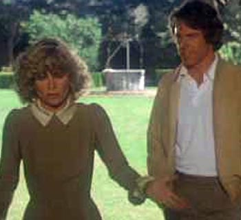 Julie Christie and Warren Beatty in the football movie Heaven Can Wait