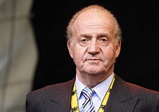 King Juan Carlos I. The King who saved his country.
