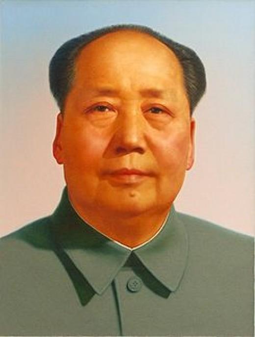 Mao Tse Tung. Murderer of millions.