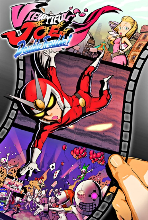 Viewtiful Joe 3 takes our heroes through several new levels, parodying several popular movies.