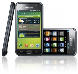 A photo of the Samsung Galaxy S.