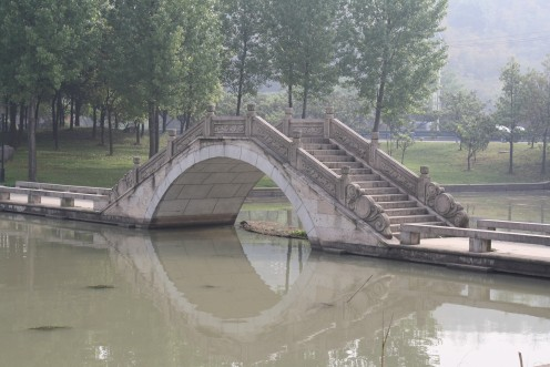 One of the many bridges (There are around 10,000 in Shaoxing)