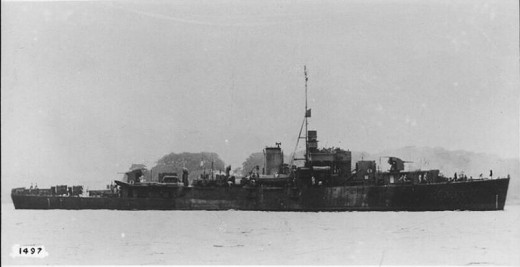 HMAS Barcoo, one of twelve River Class frigates belonging to the RAN, became a survey vessel after the war. She was built in 1944, and decommisioned for the final time in 1964.