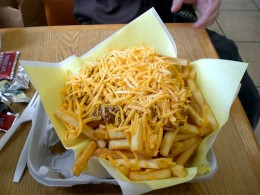 Have you ever had really great homemade Chili Cheese Fries. They are oh so delicious.
