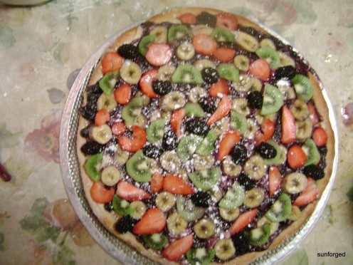 Dessert Pizza - Final Product