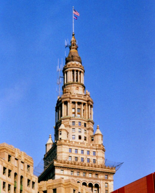 Forest City Enterprises' headquarters in Cleveland's Terminal Tower