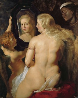 "Wikimedia Commons. ""Venus at the a Mirror"", Rubens.  You are as pretty as this Venus. Yes, YOU are, not your bathing suit!"