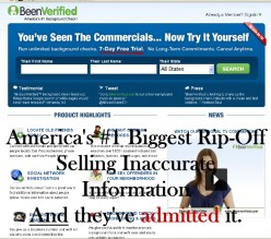 BeenVerified.com Admits to Selling Inaccurate Data