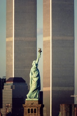 """Another Goddess, another pair of pillars. Yes, their destruction was a ritualistic act, and """"Liberty"""" was symbolically destroyed that day as well."""