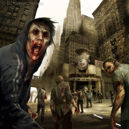 Write a zombie novel