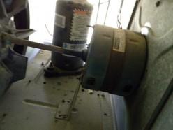 Oil the fan motor bearings