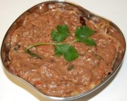Brinjal Chutney Recipe - Andhra Vankaya Pachadi