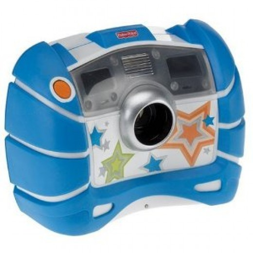Fisher-Price Kid-Tough Digital Camera-Blue