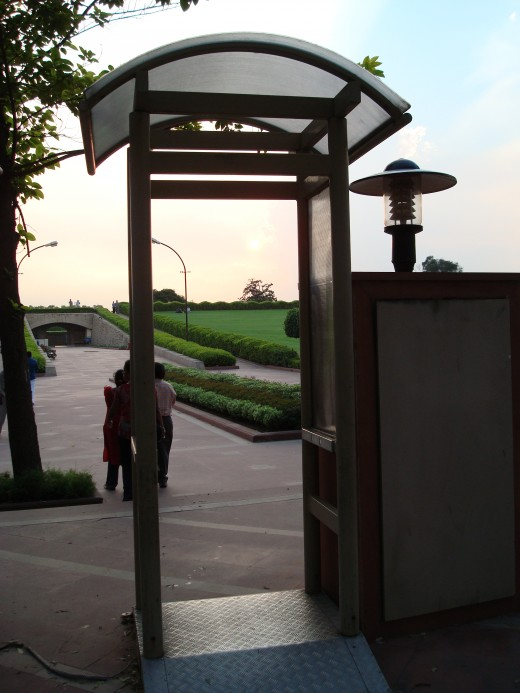 Raj Ghat Entrance checkpost