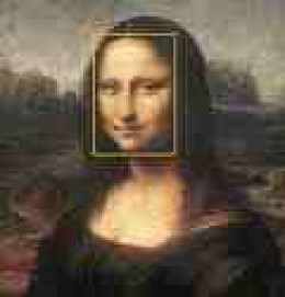 Classic face of Mona meets Golden Ratio parameters.